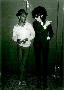 Linton Kwesi Johnston and John Cooper Clarke