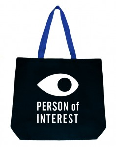 A tote bag declaring the owner as a 'person of interest' to the authorities - also sold by OR Books