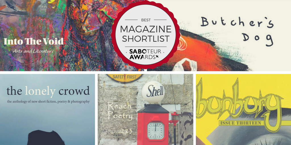Saboteur Awards 2017: Spotlight on the Best Magazine Shortlist