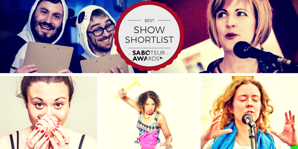 Saboteur Awards 2017: Spotlight on the Best Spoken Word Show