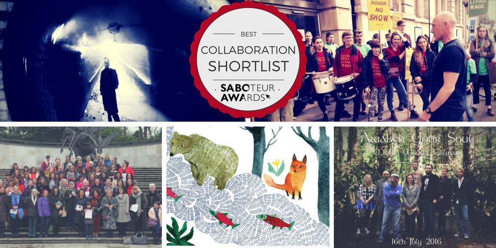 Saboteur Awards 2017: Spotlight on the Best Collaborative Work Shortlist