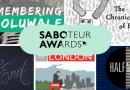 Saboteur Awards 2017: Spotlight on the Best Anthology Category