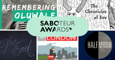 Saboteur Awards 2017: Spotlight on the Best Anthology Category