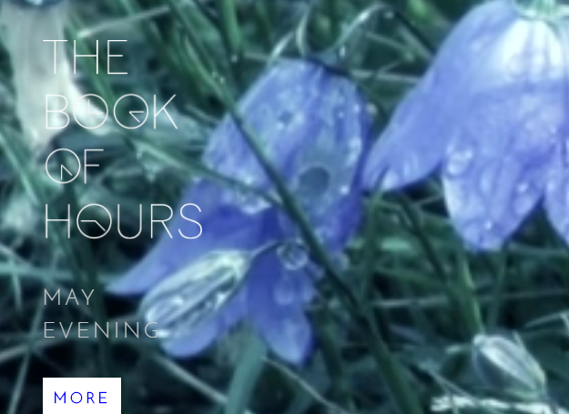 THE BOOK OF HOURS. Creating a collaboration poetry film project