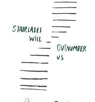 <i>Staircases Will Outnumber Us</i> by Jessica Roeder