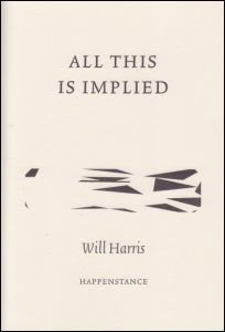 Three Happenstance Pamphlets by Jennifer Copley, Will Harris & Lois Williams