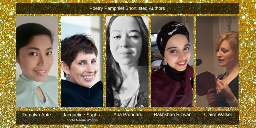 Saboteur Awards 2018: Spotlight on the Best Poetry Pamphlet Shortlist