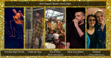 Saboteur Awards 2018: Spotlight on the Best Regular Spoken Word Night