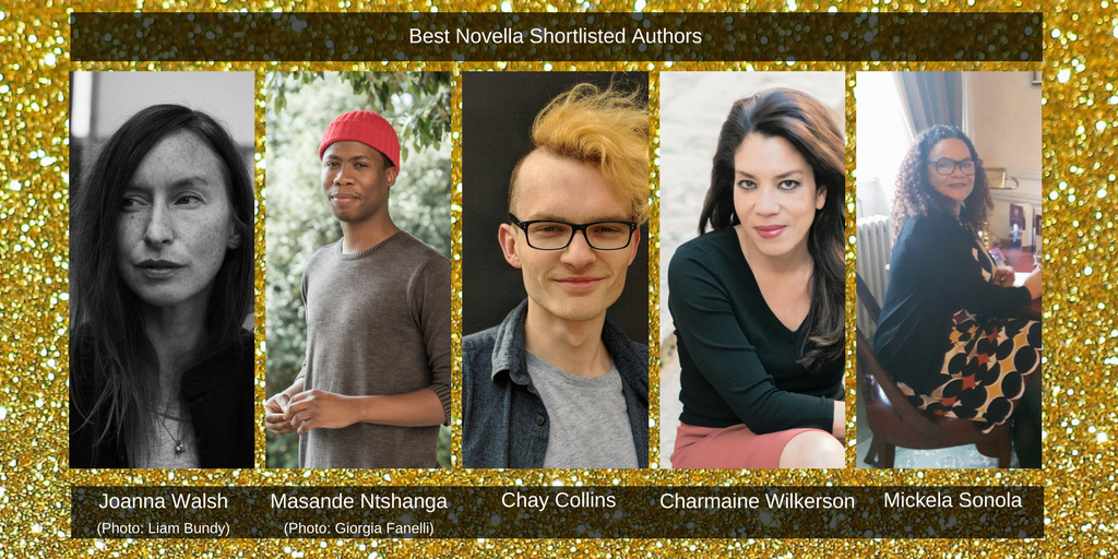 Saboteur Awards 2018: Spotlight on the Best Novella Shortlist