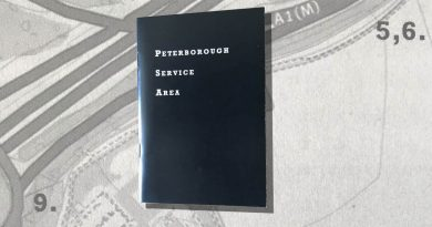 <i> Peterborough Service Area </i> by Krishan Coupland and Eloise Shepherd
