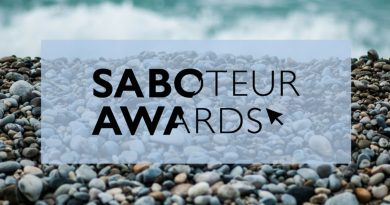 Saboteur Awards Festival 2019 – Programme details!