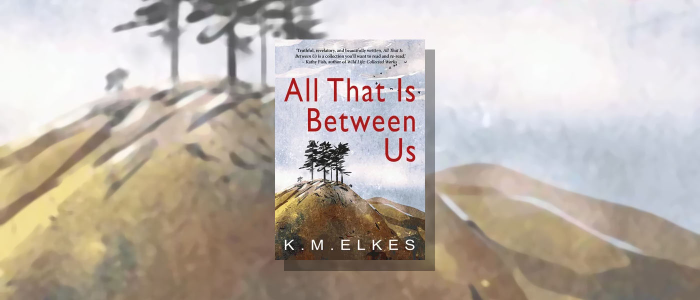 <i> All That Is Between Us </i> by KM Elkes