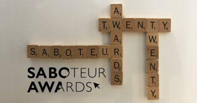 Saboteur Awards 2020: The Winners!