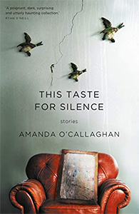 This Taste for Silence book cover featuring ducks on a wall