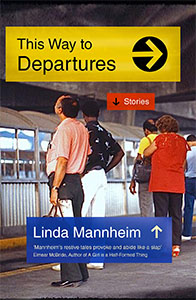 This Way to Departures cover featuring passengers on a platform