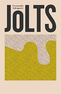 Jolts book cover with yellow abstract