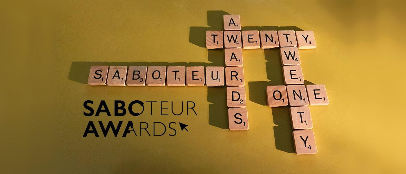 Saboteur Awards Festival 2021: The line-up!