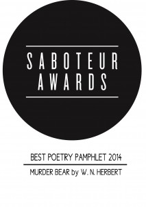 Best Poetry Pamphlet prize logo