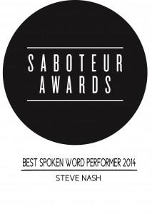 Best Spoken Word Performer prize logo