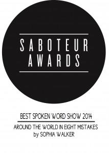 Spoken Word Show prize logo