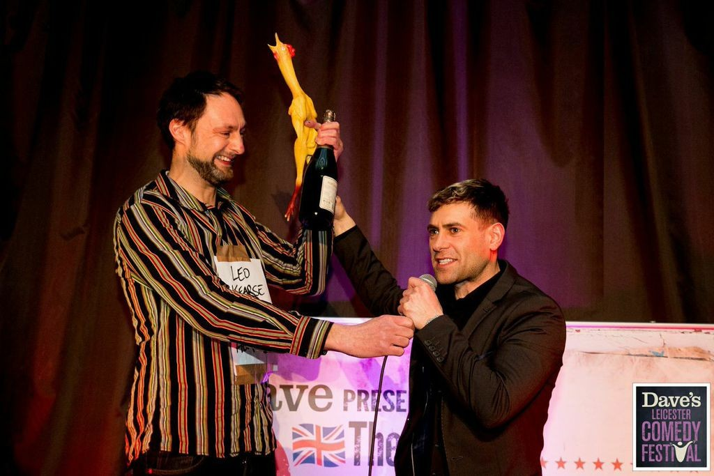 Dave's UK Pun Championships 2015 (image supplied by Dave's Leicester Comedy Festival)