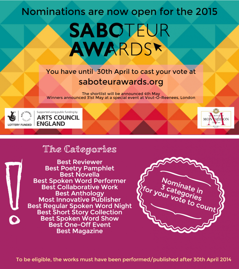Saboteur Awards 2015 (2)