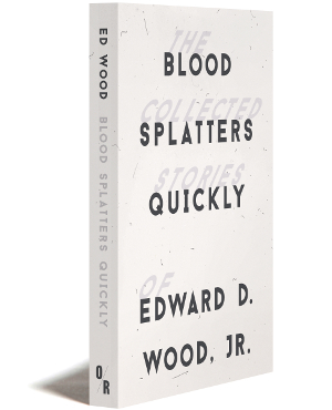 OR Book Blood Spatters Quickly
