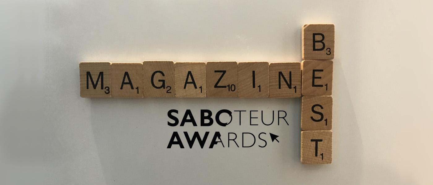 Saboteur Spotlight: Best Magazine 2021, Magma