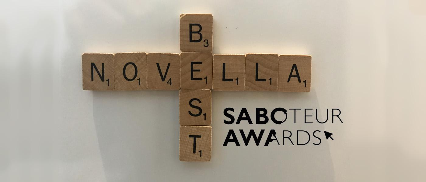 Saboteur Spotlight: Best Novella 2021, All Our Squandered Beauty by Amanda Huggins