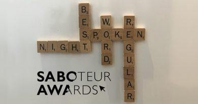 Saboteur Spotlight: Best Regular Spoken Word Night, Live from The Butchery (Digital)