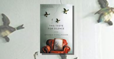 This Taste for Silence book cover featuring ducks on a living room wall