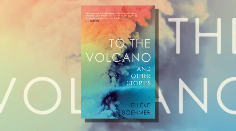 To the Volcano book cover featuring multi-coloured ash cloud